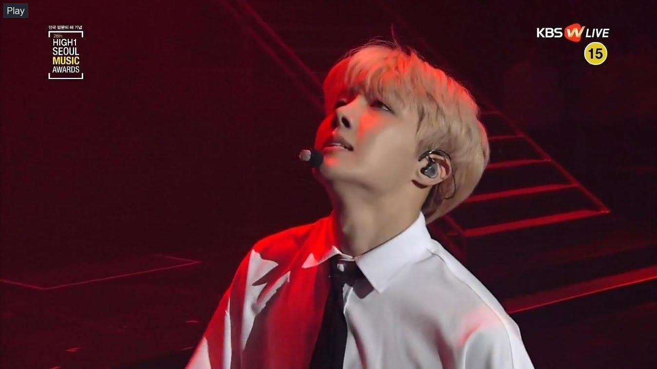 Bts Jhope Boy Meets Evil At Seoul Music Awards 2017 Youtube