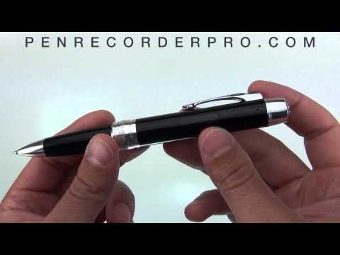 Voice Recording Pen - Ultimate Lecture Pen Recorder PCM007 - Demonstration
