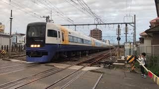 B.B.BASE銚子号成田経由両国行 特急しおさい12号東京行 銚子駅発車!