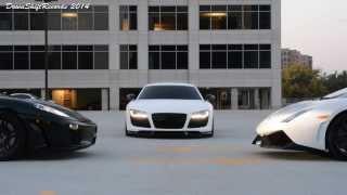 Jazda Lamborghini vs Audi vs Ferrari – Tor Łódź video