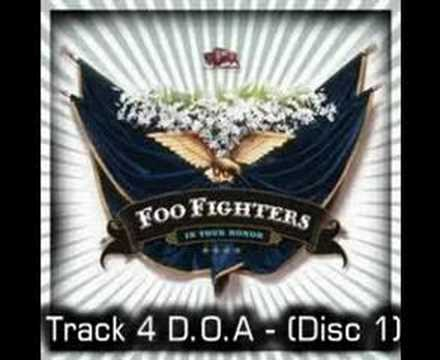Foo Fighters - DOA