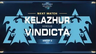 Kelazhur (T) Vs Vindicta (T) Game 2 WCS WINTER [ES] - Grupo C América