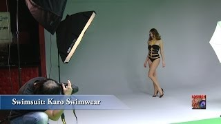LIGHTING FASHION - Day1-Part2 Studio Photography Workshop with Bowens flash kits and swimsuit models(