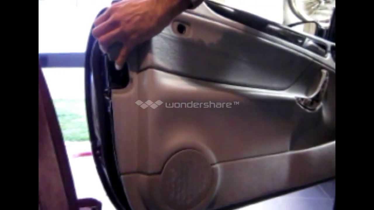 clk mercedes door panel removal (w208) / dépose garniture porte