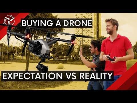 Expectation vs. Reality: Buying a drone