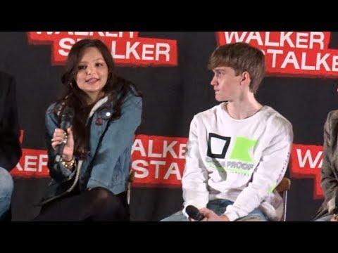 "Walker Stalker London 2019 | Cassady (Lydia): ""I sucked a real worm"""