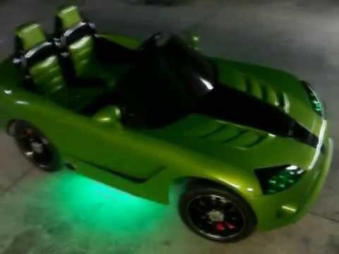 modified power wheels custom built dodge viper venom part 2 youtube. Black Bedroom Furniture Sets. Home Design Ideas