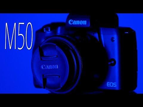 Canon M50 Image Stabilization Test