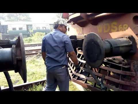 Indian Railway Shuntman & Shunting