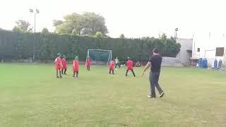 JUF Children  playing Football @Netsol