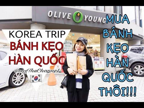 Song Thư Vlog: Đi mua bánh kẹo Hàn Quốc cùng anh em Song Thư- SONG THƯ CHANNEL