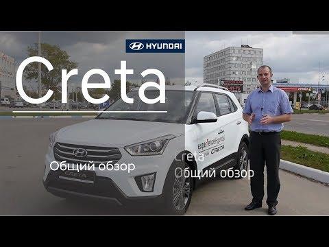 Hyundai Creta общий обзор
