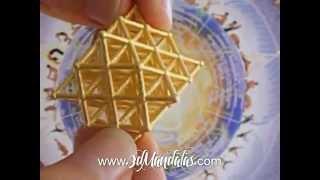 SacredGeometry 64TetrahedronGrid NassimHaramein 3d print