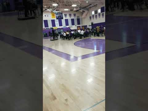 Fall concert clip of Audrey's advanced band at Camino Real middle school