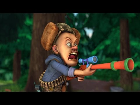 Медведи-соседи 🐻 | 2 сезон 30 серия | Охотник Бриар против медведя Вики | Мультики детям