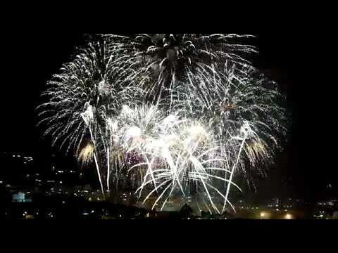Pique de fuegos artificiales en Los Realejos Tenerife