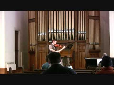 William Walton Viola Concerto: Mvt. 3