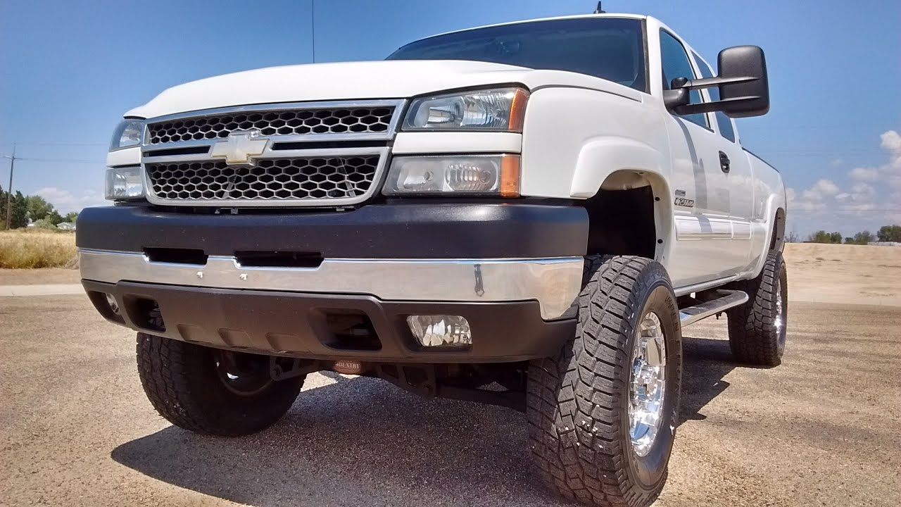 2006 chevy silverado 2500hd lifted duramax stock 0415 youtube. Black Bedroom Furniture Sets. Home Design Ideas