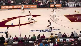 NBA2k15 Knicks Vs Cavs gameplay