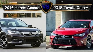 2016 Honda Accord vs. Toyota Camry: By the Numbers