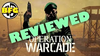 Operation Warcade VR Review