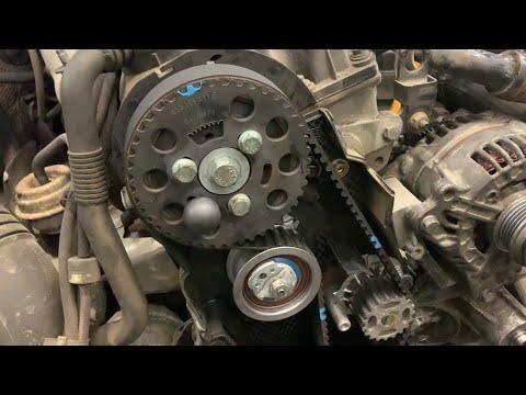 Audi A6 C5 1.9 Tdi, меняем ремень ГРМ!