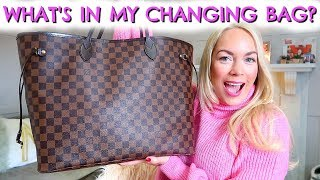 WHAT'S IN MY CHANGING BAG / NAPPY BAG / DIAPER BAG?  EMILY NORRIS