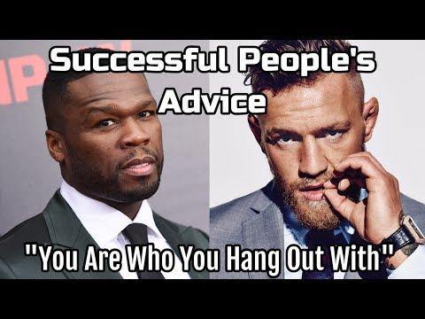 Successful People's Advice on Friends | Motivation