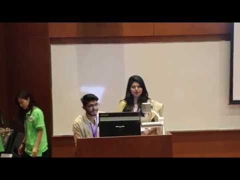 Team Bangladesh : Students delegates presentation at Arcasia Student Jamboree 2016, Hong Kong