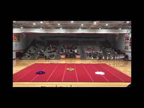 North Royalton High School Cheer competition 2019