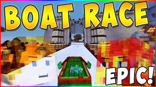 *NEW* MARIO KART BOAT RACING! (COOLEST MAP I'VE EVER PLAYED) w/PrestonPlayz