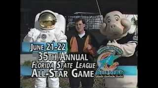 Retro Brevard County Manatees Commercial - 1996 FSL All Star Game