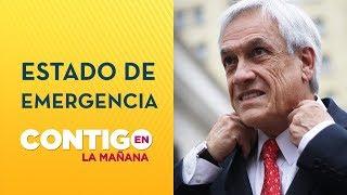 Presidente Piñera decretó Estado de Emergencia en regiones de Coquimbo y O'Higgins