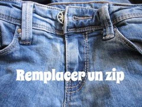 changer fermeture eclair jean