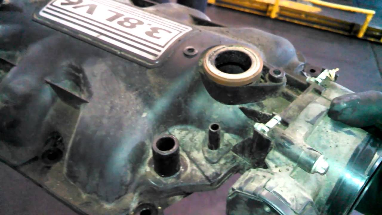 Intake Manifold Replacement 2008 Jeep Wrangler 3 8l Upper