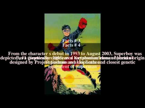 Superboy (Kon-El) Top # 7 Facts