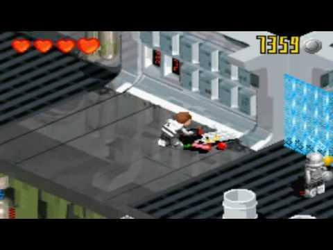 Lego Star Wars 2 The Original Trilogy GBA Gameplay