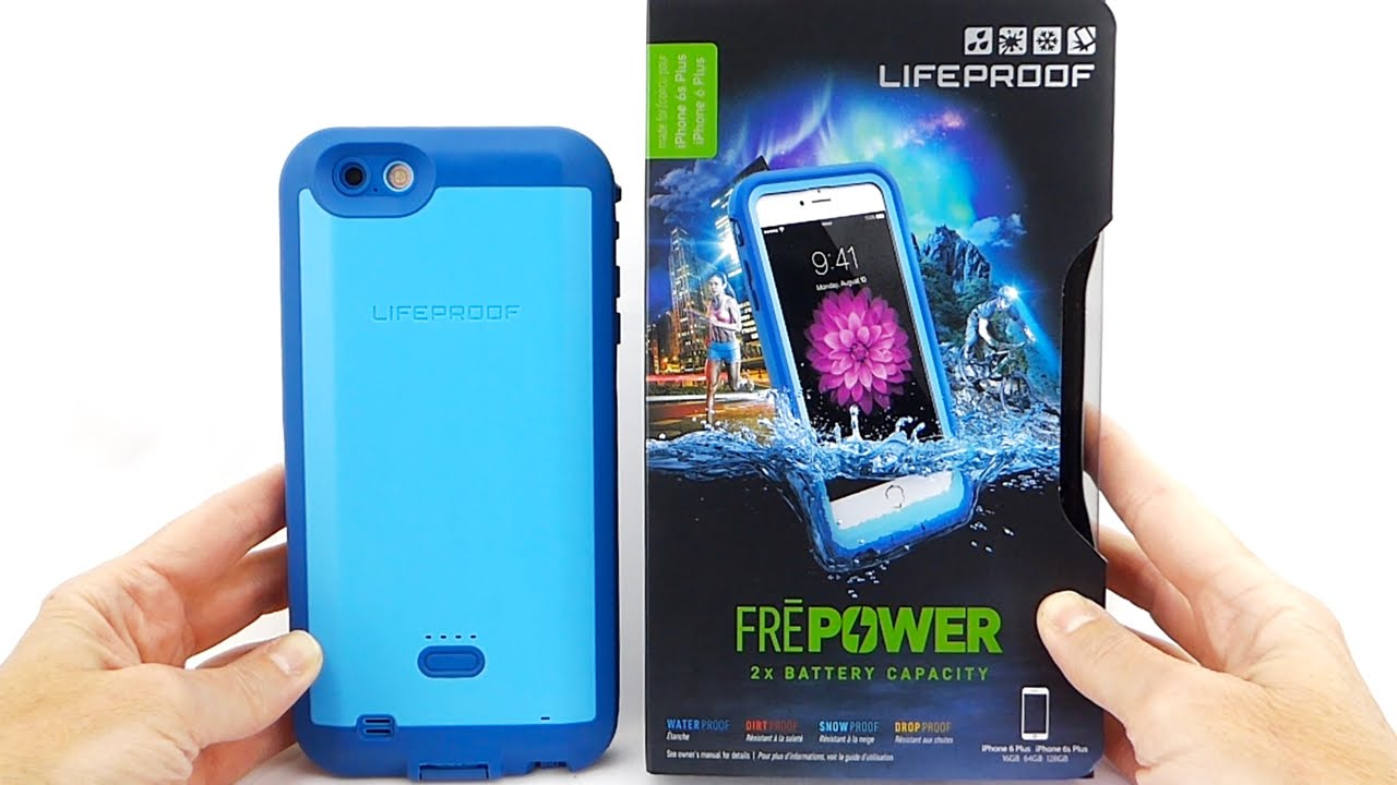 LifeProof FRE Power for iPhone 6s Plus  Feature Rich...but Kinda ... 55fc24e414e9