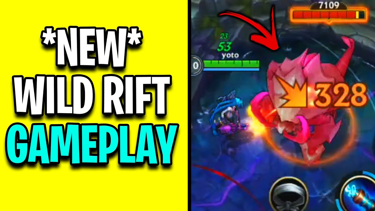 *NEW* WILD RIFT ALPHA GAMEPLAY LEAKED! - Wild Rift Gameplay Review + New Features Leaked
