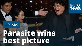 Oscars: Parasite is first foreign language film in 92 years to win best picture MyTub.uz