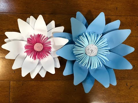 New Large Paper Flowers