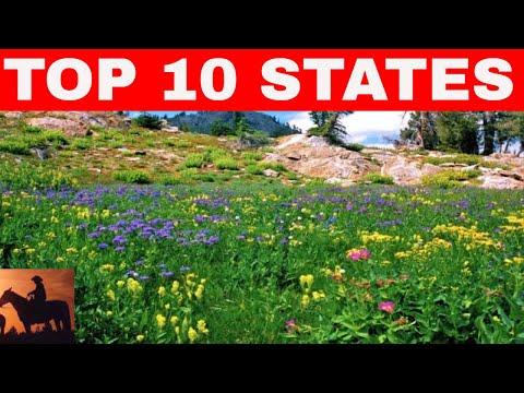Top 10 States To Buy Land