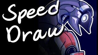Speed Draw Mass Effect: Legion Headshot