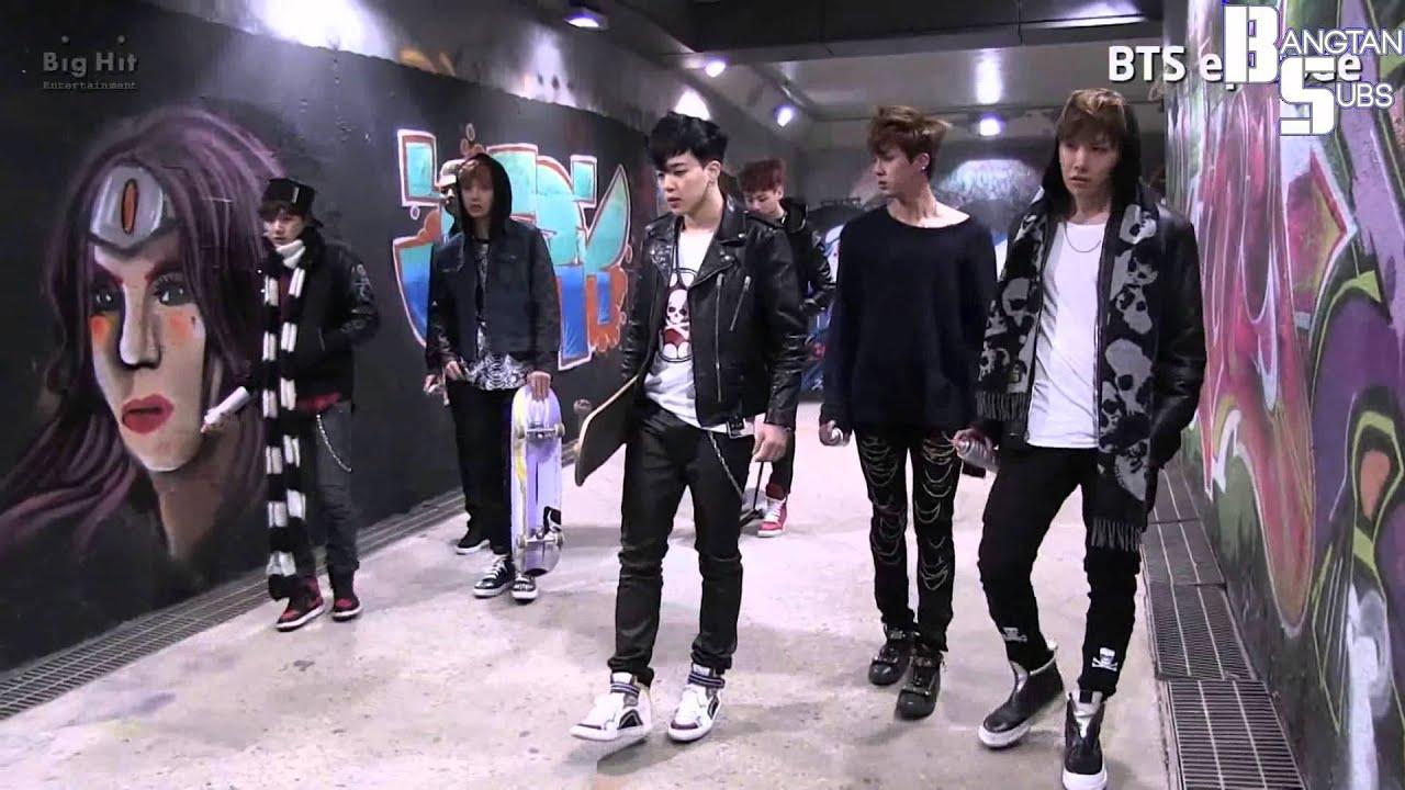 [ENG] 140214 [EPISODE] 'Skool Luv Affair' Jacket Photo shooting Sketch - YouTube