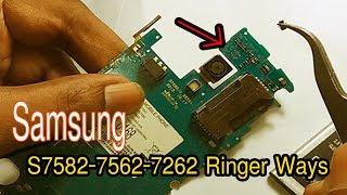 How to Samsung gt S7582-7562-7262 Ringer Ways & Speaker Jumper