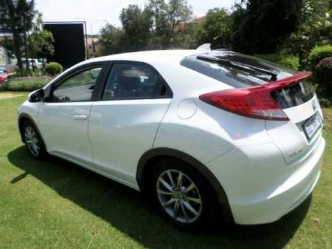 2013 honda civic 1 8 elegance hatch m t auto for sale on auto trader south africa youtube. Black Bedroom Furniture Sets. Home Design Ideas