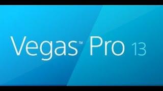 Уроки по видео монтажу в Sony vegas pro 13 # 1 .