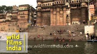 River trip on the Ganges in Varanasi - Uttar Pradesh