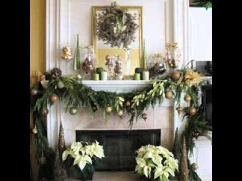 Easy DIY Christmas mantel decorating ideas - YouTube - christmas mantel decor