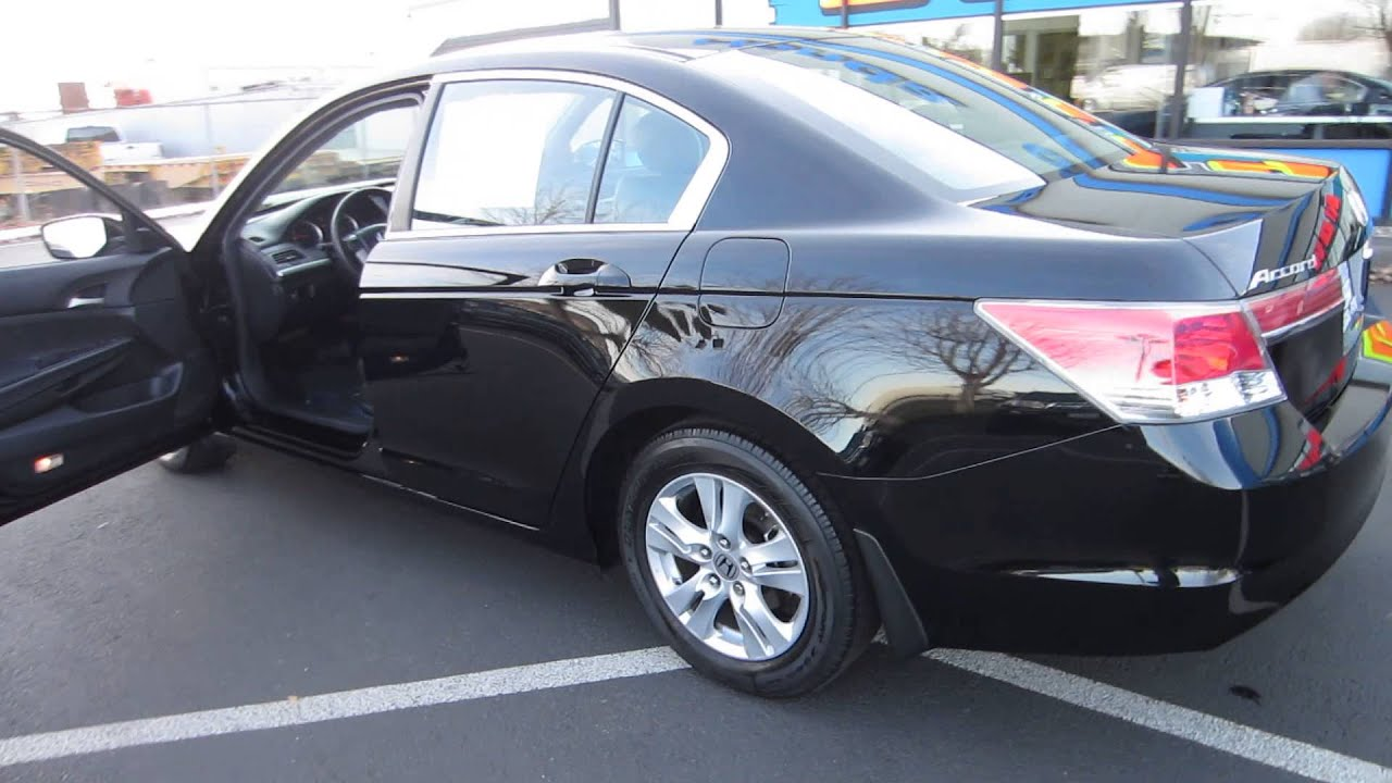 2011 Honda Accord Crystal Black Pearl Stock 731268